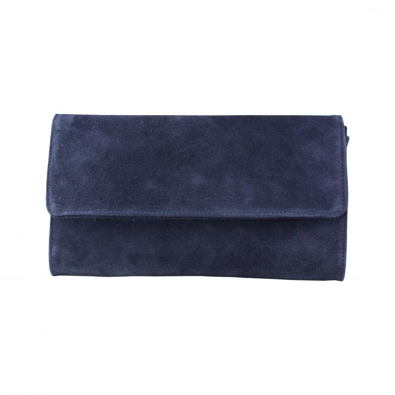 clutch donkerblauw